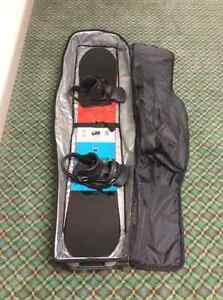Snowboard package (K2, Buton, DC)