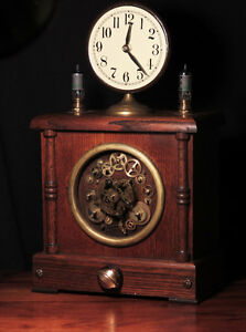 Mantle clock kijiji free classifieds in ottawa find a job buy a car find a house or - Steampunk mantle clock ...