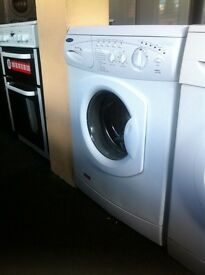 £80 WASHING MACHINE COMES WITH A STORE WARRANTY WHITE HOTPOINT 6KG