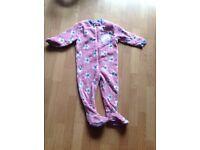 Girl 2-3 years peppa pig sleeping suit