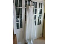 Jenny Packham stunning Pearl Button Wedding Dress Size 12 *new price*