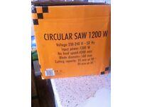 1200W Circular Saw. Collect only plz. CV3 Area.