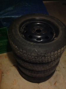 P175/70R14 Tires and Rims