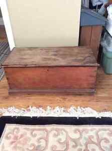 Antique Blanket Box