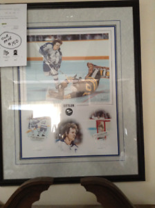 Limited Edition Darryl Sittler Print Signed and Numbered - WOW!