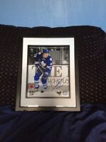 Toronto maple leafs James Van Riemsdyk signed and framed photo
