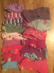 Vêtements pour fille 12 mois