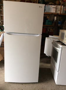Less than two years old great deal, big fridge