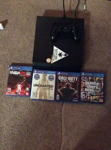 Ps4 with 4 games!