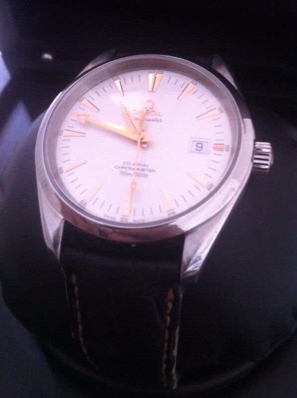 Omega Seamaster Aqua Terra Co-Axial Chronometer Auto Mens Watch