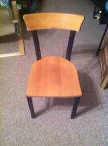 Steel and Wood Chair