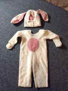 Bunny costume (size 2/3)
