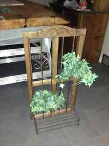 Wood and metal hanging planter for sale