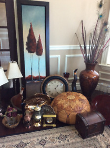 Bombay Tables, Table Lamps, Area Rugs and more.
