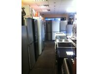 Fridge freezers offer sale from £120 with waranty REFRIGERATION EX-DISPLAY COOKERS WASHER DRYERS