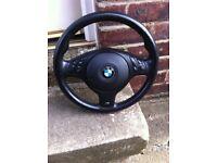 BMW 5 series M sport steering wheel/airbag