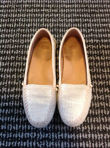 Ugg Gold Loafers