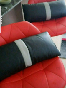 Custom Italian Leather Pillows