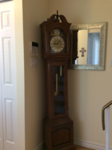 """Grandfather clock, buy local! 6'tall,11""""wide"""