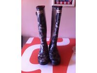 Genuine Hunter welly boots special edition