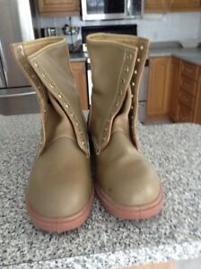 WORK BOOTS-BRAND NEW-CSA approve-size 12.5- Steel toes-$20