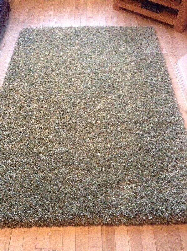 Green Deep Pile Rugs