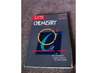 As & A level Chemistry Revision Book for sale  London