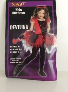 Girl's Devil Costume