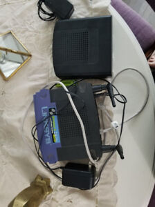 Linksys Router & Thompson Modem (Teksavvy)