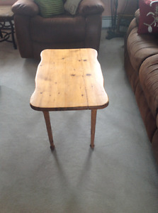 Old Style Coffee Table Hand Made Solid frame and legs