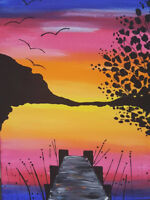 Paint & Sip at the Enderby Legion June 27