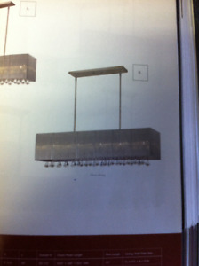 BRAND NEW Crystal Linear Fixture DISCOUNTED