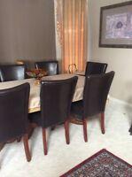 Dining room set .