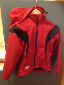 Rain jacket outter shell breathable water resistant