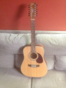 Cort earth 70/ 12 string acoustic guitar