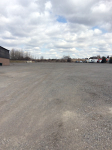 Commercial outside storage / parking.  Starting May 1st