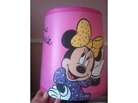 Minnie Mouse lightshade & curtains