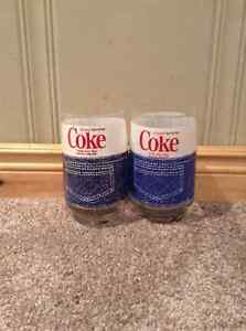 Pair of Retro 1970's Coca Cola denim jeans glasses - RARE Kitchener / Waterloo Kitchener Area image 1
