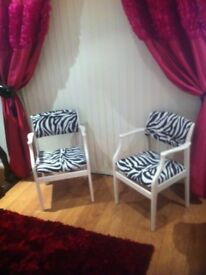 2 Parker knoll chairs