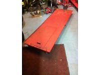 Sealey motorcycle repair lift ramp
