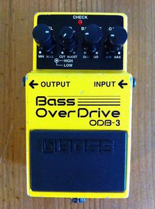 BOSS ODB-3 Overdrive Pedal