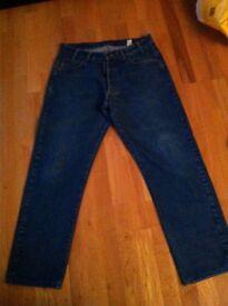 Mens authentic original Italian Armarni jeans