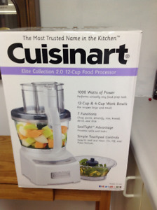 Cuisinart Elite Collection 2.0 12 cup food processor Brand new