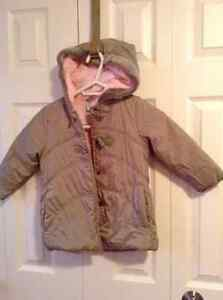 George winter coat with hood - Size 3