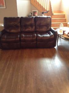 divan + 2 chaises cinéma maison