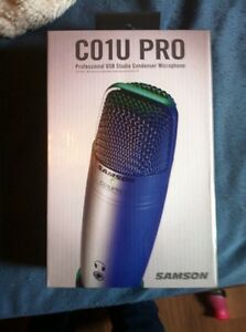 Co1u pro microphone (comes with tripod stand,swivel mount)