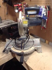 Master craft mitre saw with laser