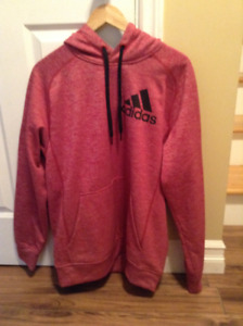 Men's  Med.  Size  Red Adidas hoodie