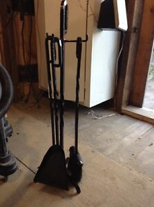3 piece fireplace tools Stratford Kitchener Area image 1