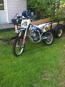 07 YZ250f with ownership